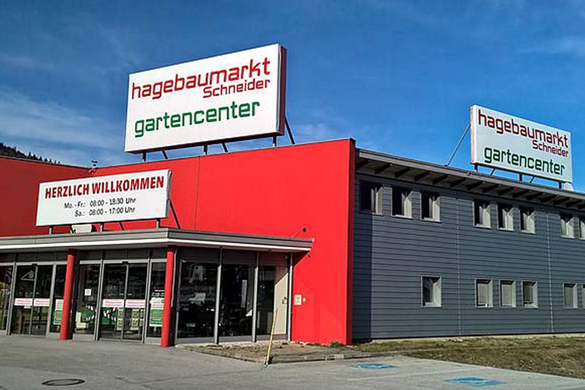 2016 Die Schneider Gruppe eröffnet hagebaumarkt in Kufstein